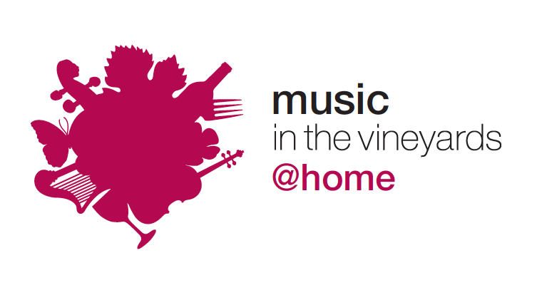 Music in the Vineyards @Home logo