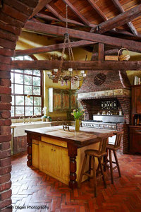 Tuscan Farmhouse Kitchen